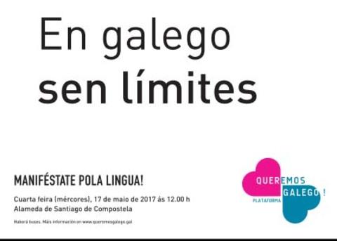 Infominho - Queremos Galego convoca unha grande manifestación de unidade a favor da nosa lingua  - INFOMIÑO - Informacion y noticias del Baixo Miño y Alrededores.