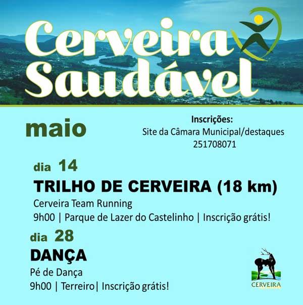 Infominho - -Cerveira Saudável- 2017 com calendário diferenciado e inscrições abertas - INFOMIÑO - Informacion y noticias del Baixo Miño y Alrededores.