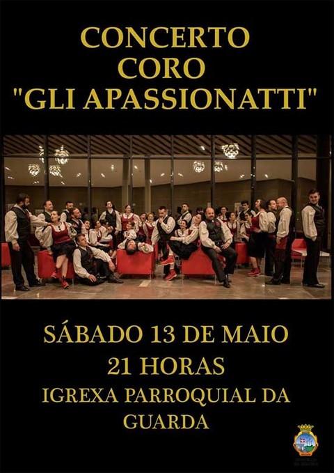 Infominho - El Coro Gli Apassionatti ofrece este sábado un concierto en A Guarda - INFOMIÑO - Informacion y noticias del Baixo Miño y Alrededores.