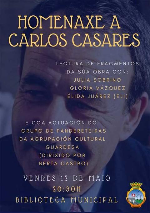 Infominho - Homenaje a Carlos Casares este viernes en A Guarda - INFOMIÑO - Informacion y noticias del Baixo Miño y Alrededores.