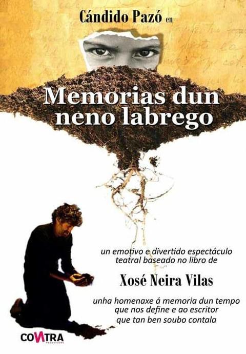 Infominho - Cándido Pazó presenta el 20 de mayo en A Guarda - Memorias dun Neno Labrego- - INFOMIÑO - Informacion y noticias del Baixo Miño y Alrededores.