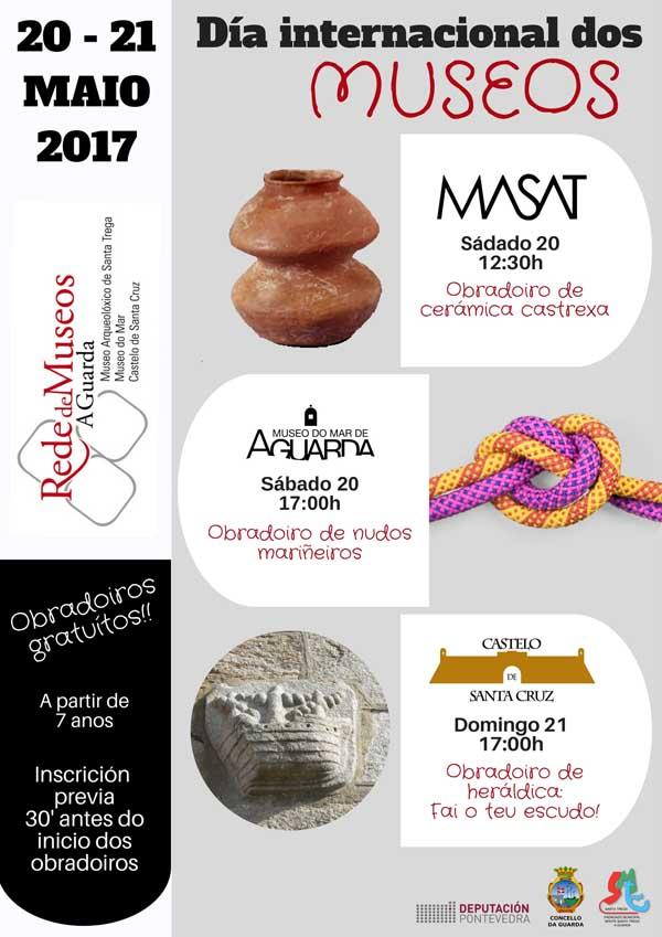 Infominho - A Rede de Museos da Guarda celebra o Día dos Museos con tres obradoiros para todo o público - INFOMIÑO - Informacion y noticias del Baixo Miño y Alrededores.
