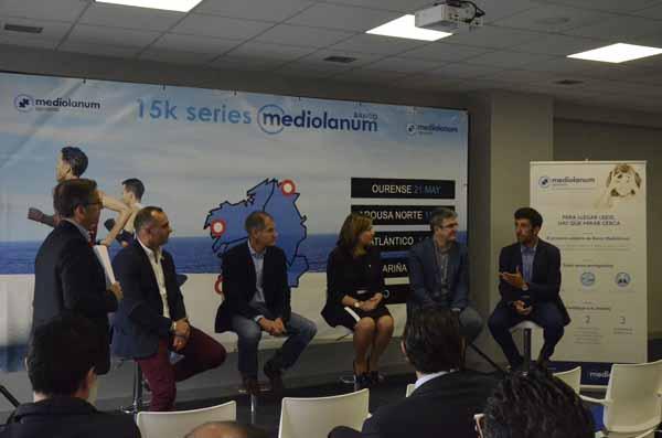 Infominho - Abel Antón apadrina el nacimiento del circuito de carreras 15K Series Banco Mediolanum  - INFOMIÑO - Informacion y noticias del Baixo Miño y Alrededores.