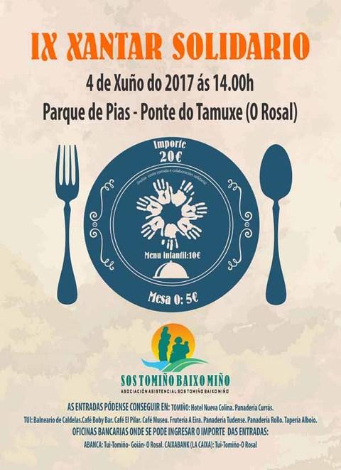 Infominho - SOS Tomiño Baixo Miño organiza o IX Xantar Solidario no Rosal - INFOMIÑO - Informacion y noticias del Baixo Miño y Alrededores.