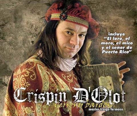 Infominho - Alumnos do IES Indalecio Pérez Tizón disfrutarán dun recital do trobador Crispin dOlot - INFOMIÑO - Informacion y noticias del Baixo Miño y Alrededores.