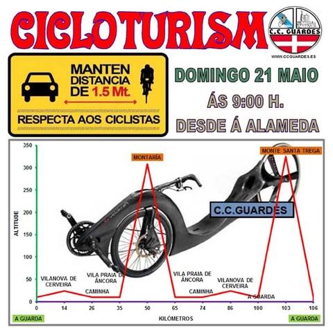 Infominho - Salidas del Club Ciclista Guardés este domingo 21 de mayo - INFOMIÑO - Informacion y noticias del Baixo Miño y Alrededores.