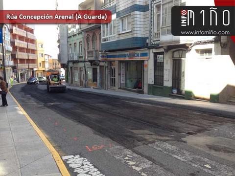 Infominho - A Deputación de Pontevedra garante ao Concello da Guarda a reforma da rúa Concepción Arenal - INFOMIÑO - Informacion y noticias del Baixo Miño y Alrededores.