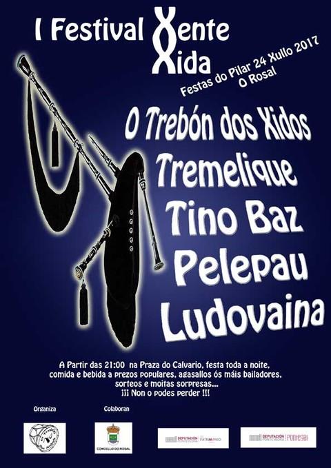 Infominho -  A Praza do Calvario do Rosal acolle o 24 de xullo o I Festival Xente Xida - INFOMIÑO - Informacion y noticias del Baixo Miño y Alrededores.