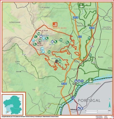 Infominho - Medio Ambiente celebra o Día Europeo dos Parques Naturais con actividades este mércores no Monte Aloia de Tui  - INFOMIÑO - Informacion y noticias del Baixo Miño y Alrededores.