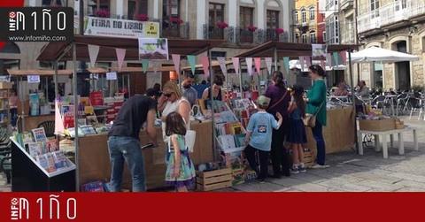 Infominho -  Especial - Buena afluencia de visitantes en la Feria del Libro 2017 en A Guarda - INFOMIÑO - Informacion y noticias del Baixo Miño y Alrededores.