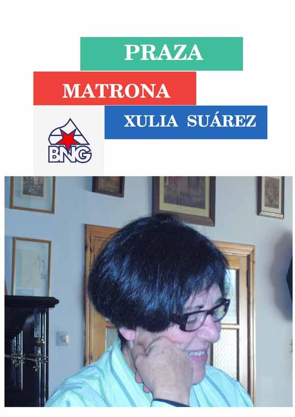 Infominho - O BNG de Oia presenta unha moción para que a praza do franquista  José Solís Ruíz pase a chamarse -praza matrona Xulia  Suárez- - INFOMIÑO - Informacion y noticias del Baixo Miño y Alrededores.
