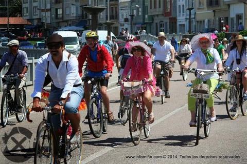 Infominho - Ruta en bicicleta ataviados de época este domingo en A Guarda - INFOMIÑO - Informacion y noticias del Baixo Miño y Alrededores.