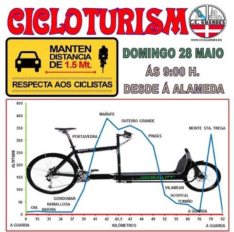 Infominho - Salidas del Club Ciclista Guardés este domingo 28 de mayo - INFOMIÑO - Informacion y noticias del Baixo Miño y Alrededores.