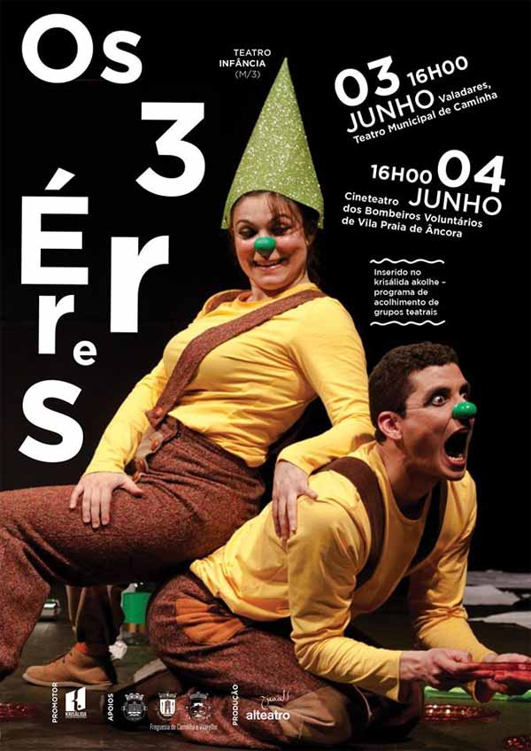 Infominho - Os 3 Erres sobre ao palco do Valadares de Caminha no día 3 de junho - INFOMIÑO - Informacion y noticias del Baixo Miño y Alrededores.