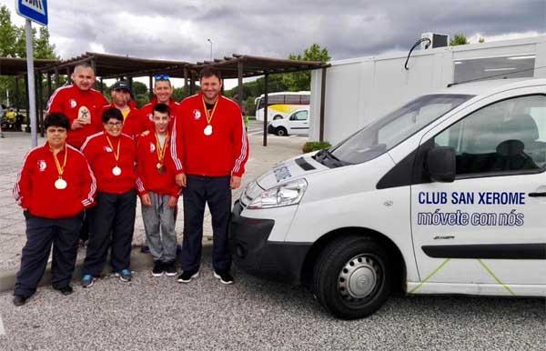 Infominho - Club deportivo San Xerome no Campionato de España de Atletismo Huelva 2017 - INFOMIÑO - Informacion y noticias del Baixo Miño y Alrededores.