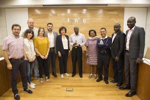 Infominho - O ministro de Administración Territorial de Guinea Bissau, visita Tomiño para coñecer iniciativas de desenvolvemento local e cooperación - INFOMIÑO - Informacion y noticias del Baixo Miño y Alrededores.