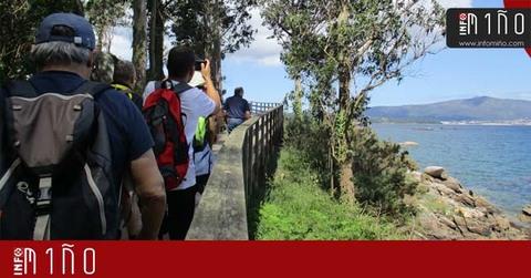 Infominho - Especial - Vecinos de Caminha y A Guarda participaron en una Ruta por la Illa de Arousa - INFOMIÑO - Informacion y noticias del Baixo Miño y Alrededores.