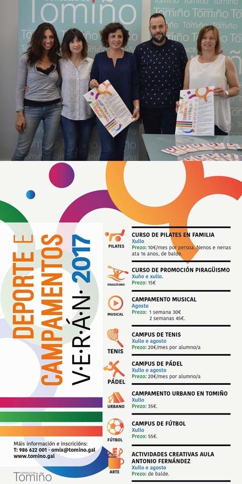 Infominho - O Concello de Tomiño organiza unha decena de actividades de ocio e deporte de verán - INFOMIÑO - Informacion y noticias del Baixo Miño y Alrededores.