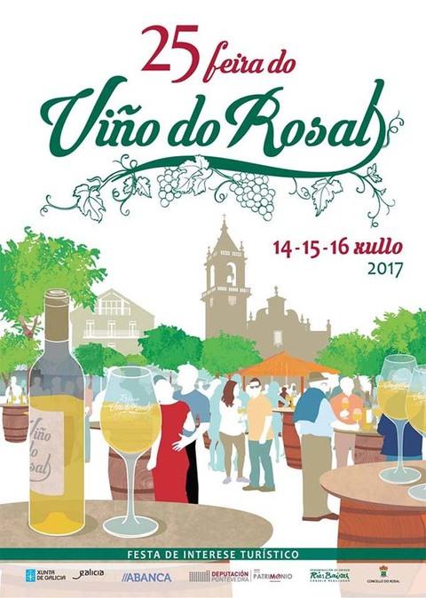 Infominho - A Feira do Viño do Rosal 2017 terá lugar do 14 ó 16 de xullo - INFOMIÑO - Informacion y noticias del Baixo Miño y Alrededores.