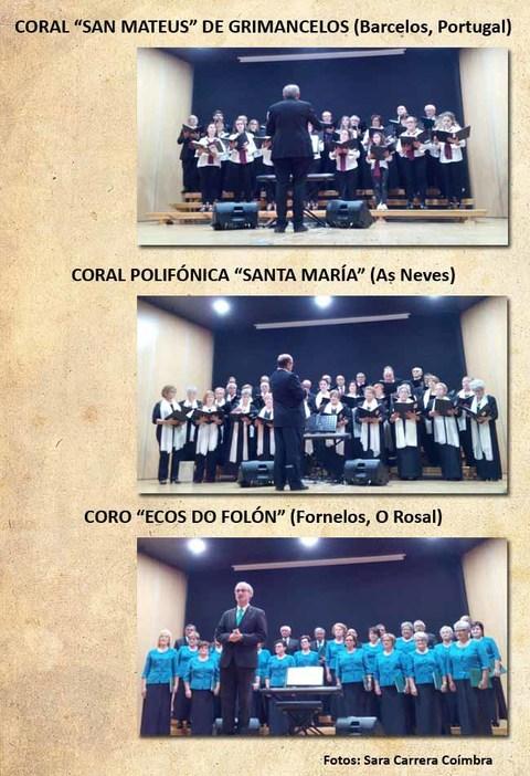 Infominho - O Auditorio do Rosal acolleu o V Concerto Coral Ecos do Verán - INFOMIÑO - Informacion y noticias del Baixo Miño y Alrededores.