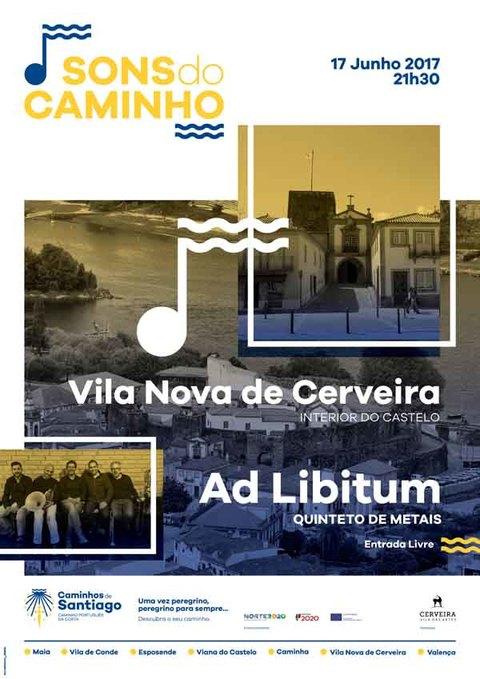 Infominho - Concerto do Quinteto de Metais Ad Libitum este sábado em Vila Nova de Cerveira - INFOMIÑO - Informacion y noticias del Baixo Miño y Alrededores.
