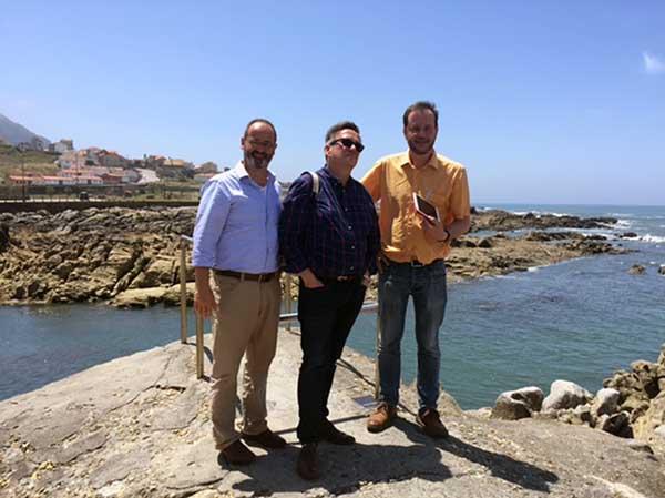 Infominho -  Visita de responsables de escuelas de hostelería de benelux a la DO Rías Baixas - INFOMIÑO - Informacion y noticias del Baixo Miño y Alrededores.