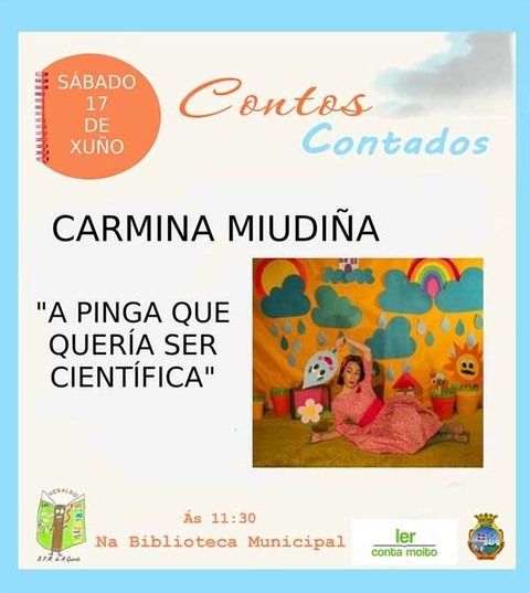 Infominho - Derradeira sesión de -Contos Contados- este sábado na Biblioteca Municipal de A Guarda - INFOMIÑO - Informacion y noticias del Baixo Miño y Alrededores.
