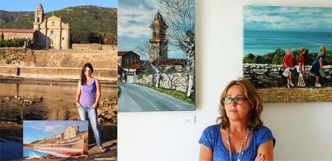 Infominho - Exposición de pintura -2 Artistas- de Lorena González y Teresa Dorado en Oia - INFOMIÑO - Informacion y noticias del Baixo Miño y Alrededores.