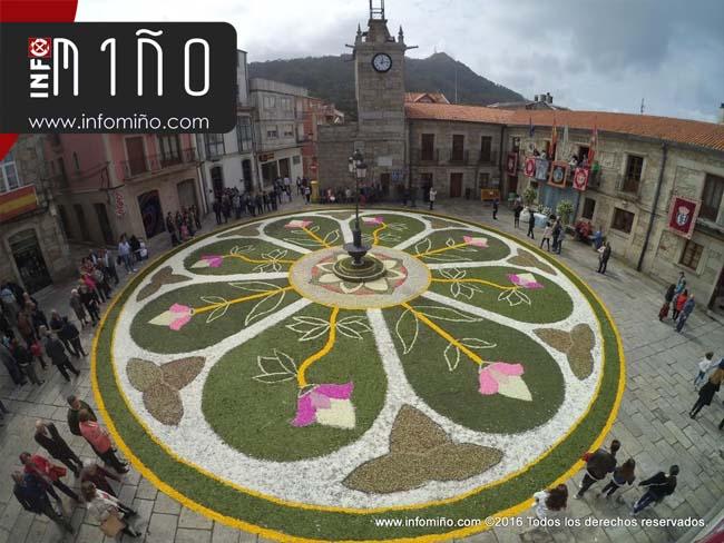 Infominho - As alfombras florais vestirán as rúas da Guarda no fin de semana de Corpus - INFOMIÑO - Informacion y noticias del Baixo Miño y Alrededores.