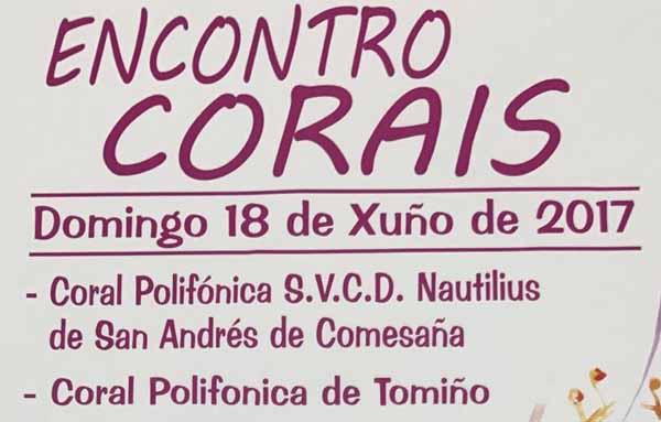 Infominho - Encontro de Corais este domingo en Tomiño - INFOMIÑO - Informacion y noticias del Baixo Miño y Alrededores.