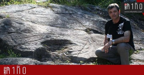 Infominho - Auga dos Cebros: Un petroglifo único en el arco atlántico que se podrá visitar gratuitamente este verano en Oia - INFOMIÑO - Informacion y noticias del Baixo Miño y Alrededores.