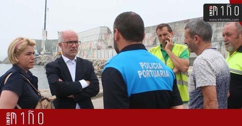 Infominho - Especial - A reparación dos danos no peirao de A Guarda estarán rematadas no outono - INFOMIÑO - Informacion y noticias del Baixo Miño y Alrededores.