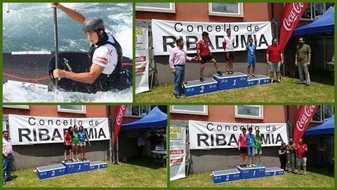Infominho - Catro medallas para os Teixugos na 4ª Copa Galega de Promoción de Slálom - INFOMIÑO - Informacion y noticias del Baixo Miño y Alrededores.
