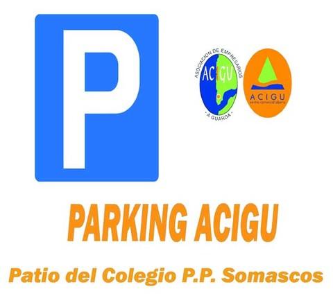 Infominho -  Acigu CCA pone en funcionamiento un parking en el patio del Colegio PP Somascos - INFOMIÑO - Informacion y noticias del Baixo Miño y Alrededores.