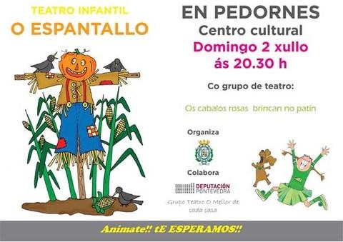 Infominho -  Teatro infantil O Espantallo, este domingo en Pedornes(Oia) - INFOMIÑO - Informacion y noticias del Baixo Miño y Alrededores.