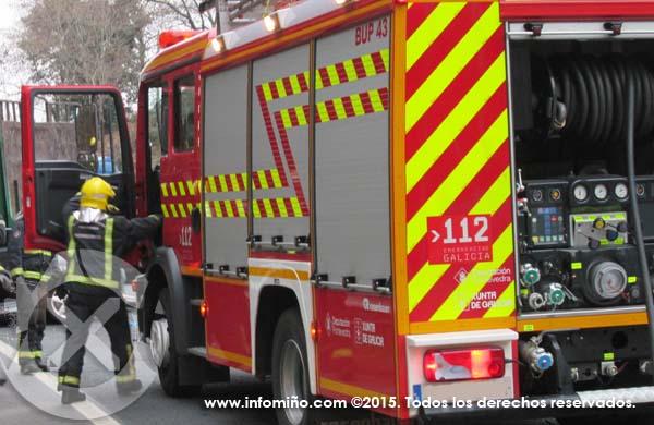 Infominho - Unha persoa ferida nun choque múltiple en Tomiño - INFOMIÑO - Informacion y noticias del Baixo Miño y Alrededores.