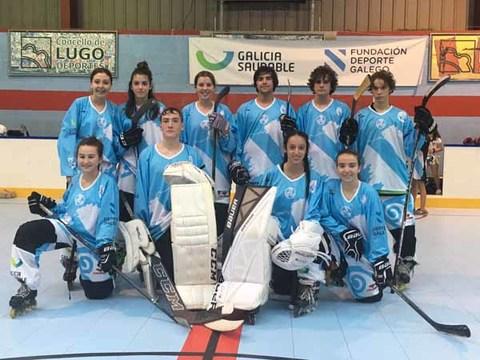Infominho - Catro xogadores de A Guarda Hockey Liña na Selección Galega - INFOMIÑO - Informacion y noticias del Baixo Miño y Alrededores.