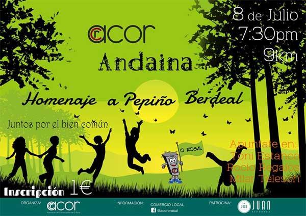 Infominho - O Rosal realiza un Homenaje a Pepiño Berdeal con una Andaina el 8 de Julio - INFOMIÑO - Informacion y noticias del Baixo Miño y Alrededores.