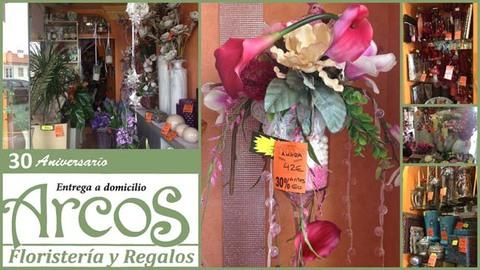Infominho -  Floristería - Regalos Arcos celebra su 30º Aniversario con un 30% de descuento - INFOMIÑO - Informacion y noticias del Baixo Miño y Alrededores.