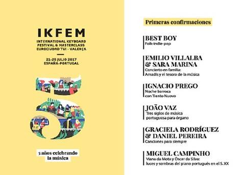 Infominho -  Nuevas confirmaciones IKFEM 2017: Graciela Rodríguez & Daniel Pereira y Miguel Campinho - INFOMIÑO - Informacion y noticias del Baixo Miño y Alrededores.