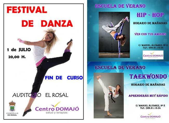 Infominho - Escuela de verano de Hip - Hop y Taekwondo en el Centro Domajó de A Guarda - INFOMIÑO - Informacion y noticias del Baixo Miño y Alrededores.