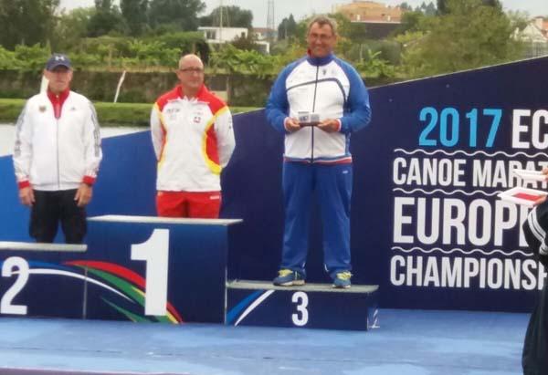 Infominho -  Cinco palistas del Kayak Tudense, en el Europeo de maratón, donde Enrique Míguez logró dos medallas - INFOMIÑO - Informacion y noticias del Baixo Miño y Alrededores.