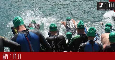 Infominho - Especial - Máis de 70 persoas rematan a  XXII Travesía a nado no Porto de A Guarda - INFOMIÑO - Informacion y noticias del Baixo Miño y Alrededores.