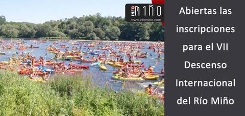 Infominho - ¿Te apuntaste ya al VII Descenso Internacional del Río Miño? - INFOMIÑO - Informacion y noticias del Baixo Miño y Alrededores.