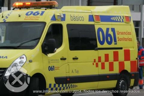 Infominho - Motorista ferido en Tui esta mañá - INFOMIÑO - Informacion y noticias del Baixo Miño y Alrededores.