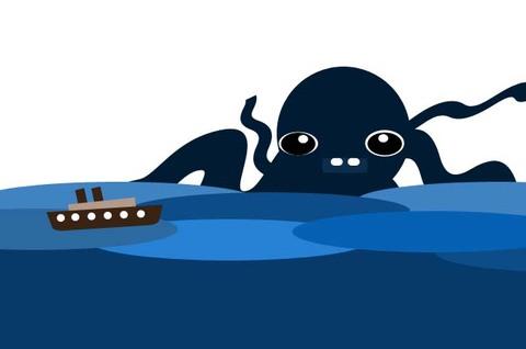Infominho - El kraken, el monstruo marino por Luis Lomba(Ayón) - INFOMIÑO - Informacion y noticias del Baixo Miño y Alrededores.