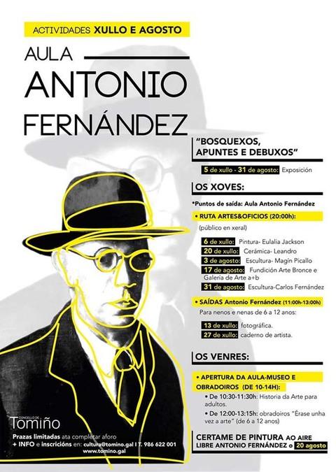 Infominho - Continúan as actividades en torno á Aula Antonio Fernández en Goián - INFOMIÑO - Informacion y noticias del Baixo Miño y Alrededores.