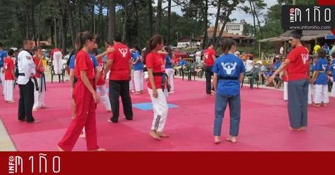 Infominho - Especial -  A Guarda acogió el  I Campamento Internacional de Taekwondo Playa - INFOMIÑO - Informacion y noticias del Baixo Miño y Alrededores.