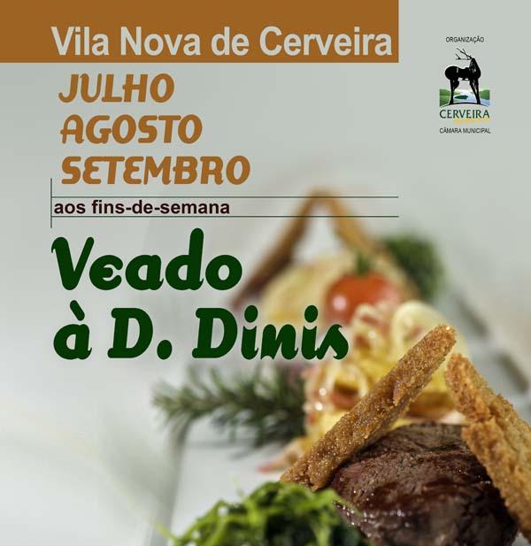 Infominho -  Veado à D. Dinis nos restaurantes de Cerveira durante os fins-de-semana - INFOMIÑO - Informacion y noticias del Baixo Miño y Alrededores.