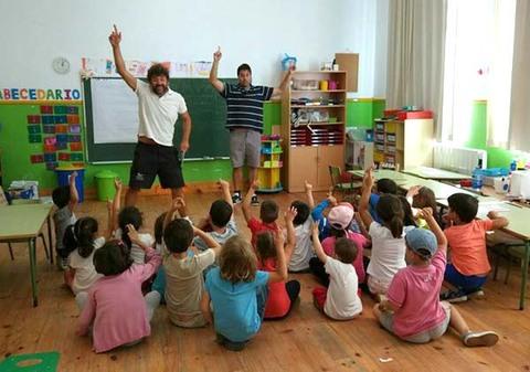Infominho - Unha veintena de nen@s participan no Campamento de Verán no Rosal - INFOMIÑO - Informacion y noticias del Baixo Miño y Alrededores.